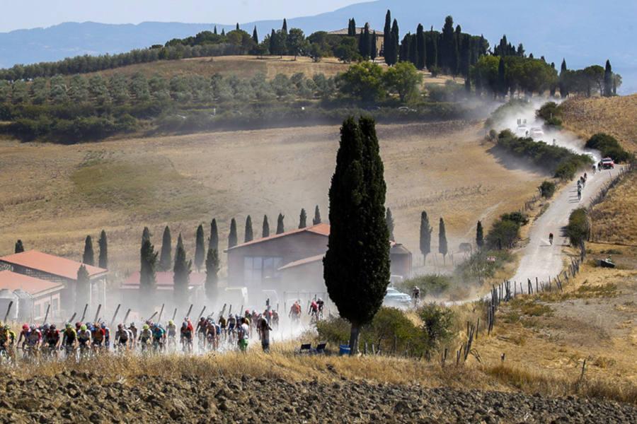 Il 104° Giro d'Italia farà tappa a Montalcino